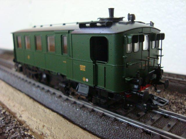 L'autorail à vapeur Kittel décoration SNCF de Marklin