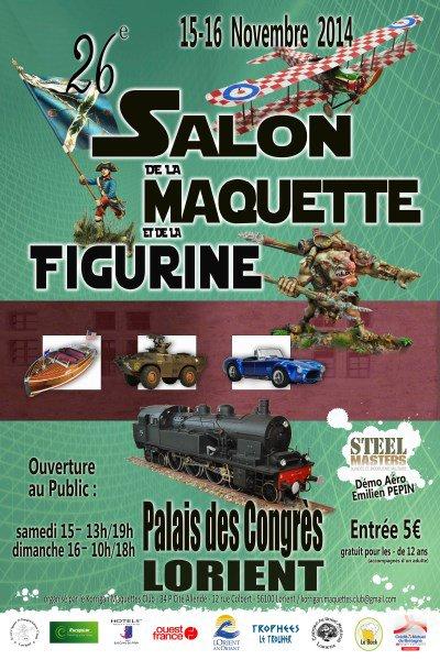 Reportage du salon de la maquette et de la figurine à Lorient 2014