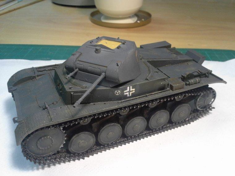 Le Panzer II Ausf B de Jean-François