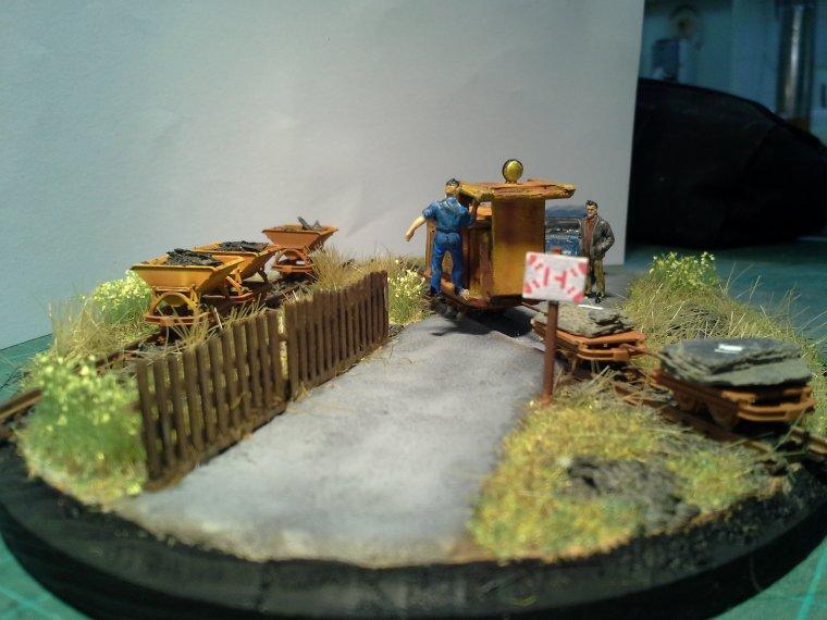 Le diorama de Trélazé de Nicolas !