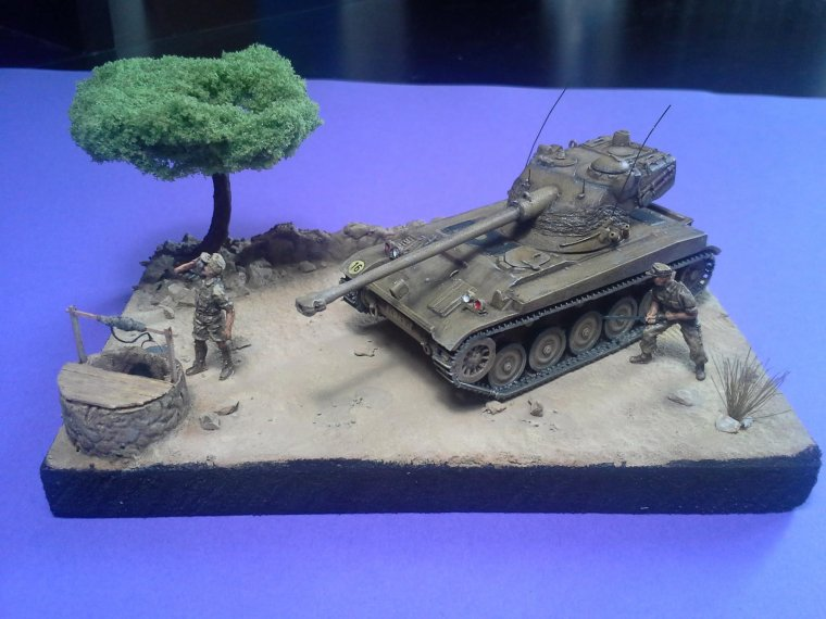 AMX 13/75 1/72 Heller de Timothée