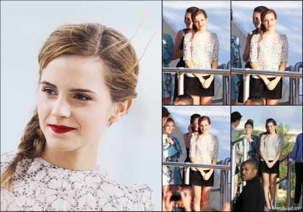 17.05.13 /  Emma au Grand Journal