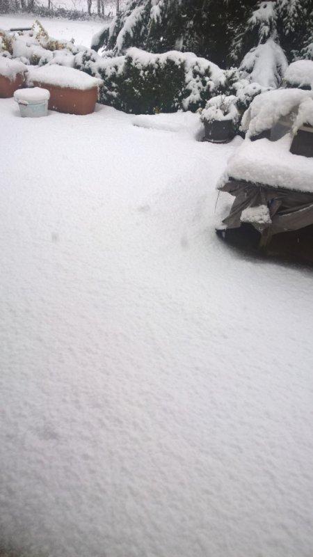 la nege chez moi