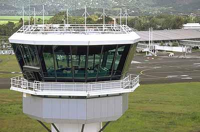 Control Tower Martinique