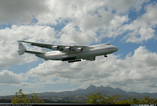 Antonov AN225 > Martinique 2007
