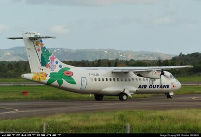 Air Guyane ATR 42-500 F-OIJB