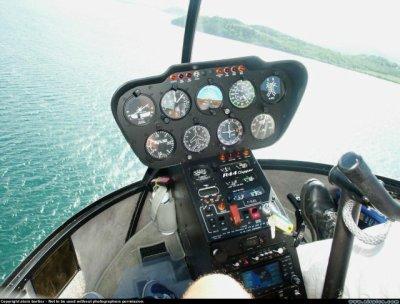 Hélie Blue : La magie de l'hélicoptére !