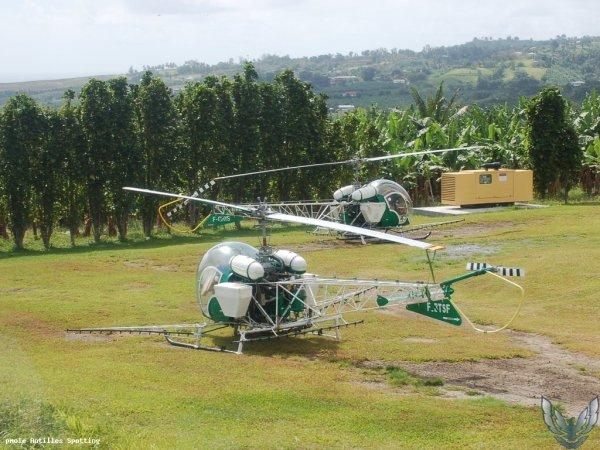 Bell 47 > Air Antilles Associés