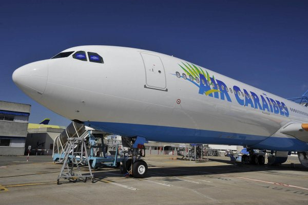 NEW > New plane > Nouveau Avion > Air Caraibes