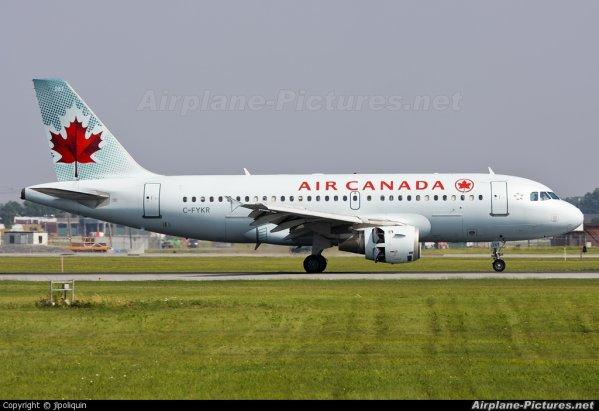 Infos > Retour > Air Canada (New)