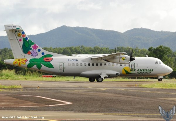 #Compagnie > Air Antilles Express > ATR-42