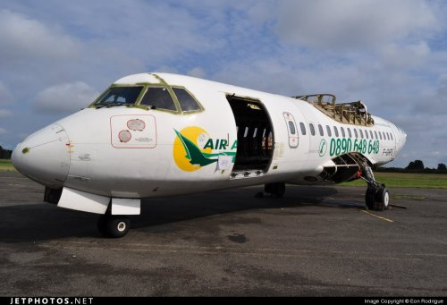 Air Antilles Express > Adieu F-GHPS