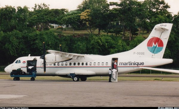 Air Martinique > Flotte ATR