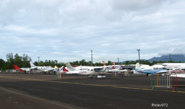 3000 visiteurs / 1er Salon Aéronautique en Martinique !