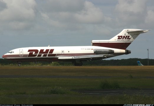 Photos Retro  > Boeing 727-200 DHL