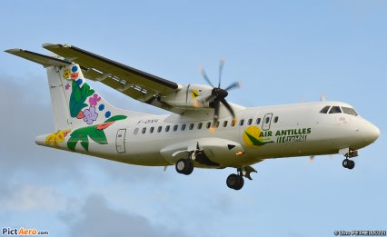 New > Nouvelle Ligne > Air Antilles Express