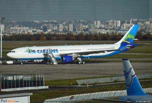 Infos > Premier vol A330-300 Air Caraïbes