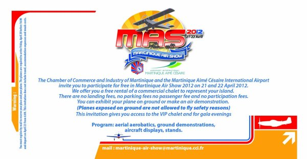 Infos > Martinique Air Show 2012
