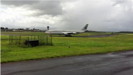 Qatar Airways > Airbus A340-200 > Guadeloupe