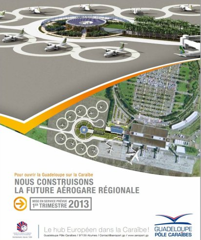 #Guadeloupe > Future Aérogare