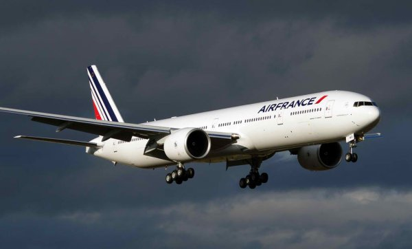 Air France reçoit son 60eme Boeing 777 il est destiné au réseau COI .