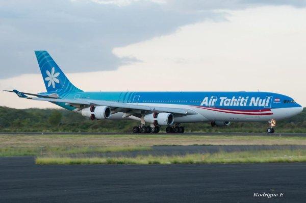 #Guadeloupe > Air Tahiti Nui > Airbus A340-300