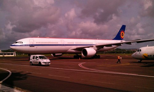 #Martinique > Belgium Air Force Airbus A330-300