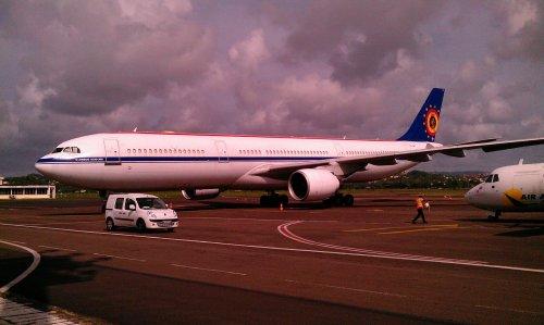 #Martinique > Belgium Air Force Airbus A330-300