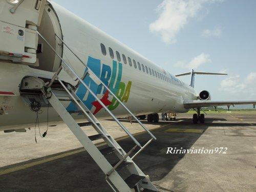 Visite > Mc Donnel Douglas > Insel Air Aruba