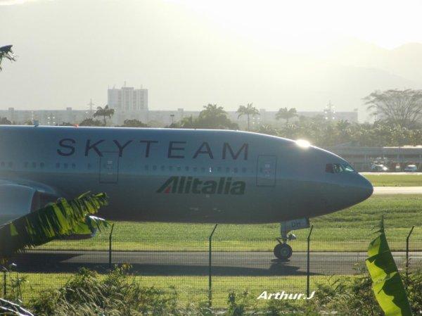 Guadeloupe > Alitalia Skyteam