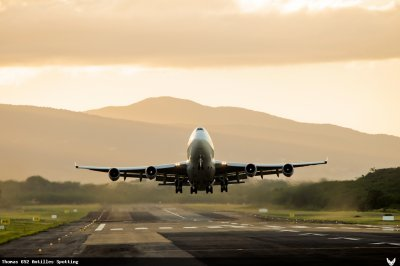 Photos > Guadeloupe > Boeing 747-400 Air France Cargo