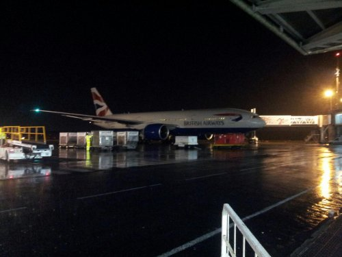 Guadeloupe > Déroutement British Airways