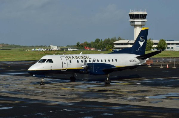 Nouvelle compagnie > Vol inaugural Seaborne Airlines