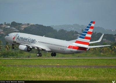 New > Martinique > American Airlines > Deuxième vol
