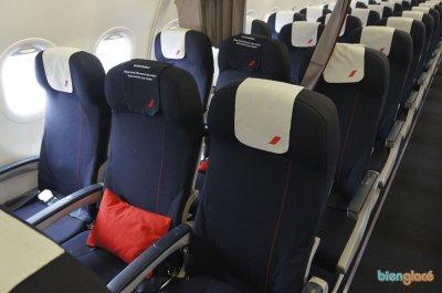 Guadeloupe nouvel airbus a320 air france l 39 aviation en for Air france interieur classe economique