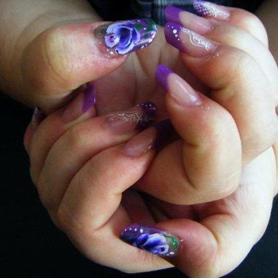 Mes mains faite hier par une amie