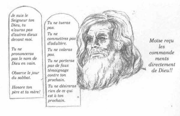 Les dix Commandement