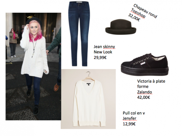 Get The Look N°1 : Perrie Edward