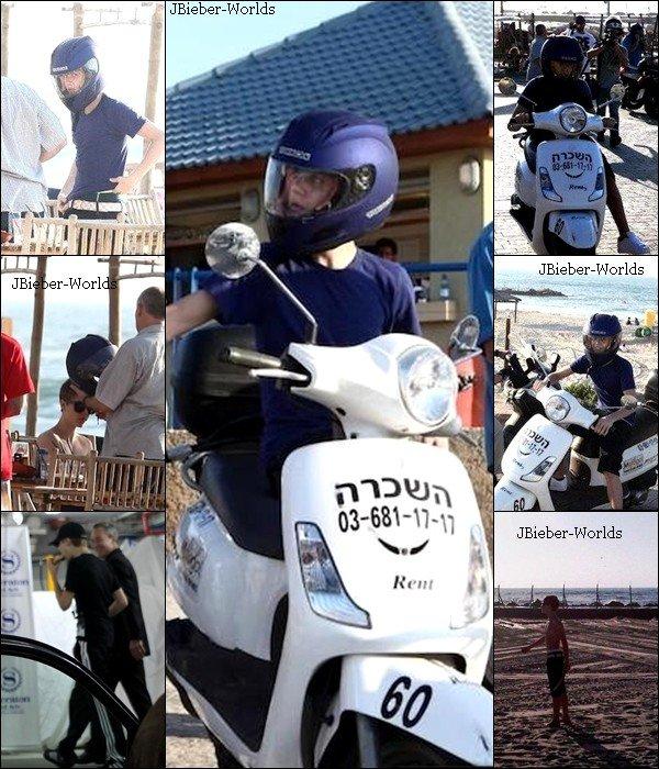 12/04/2011 - Alors pour commencer le photoshoot pour le magazine US Weekly que Justin a fait il y a quelques mois est enfin sorti en bonne qualité ! Ce photoshoot est tout simplement magnifique ! Et pour finir Justin est arrivé en Israël il n'y a pas très longtemps. Il a été vu se promenant en scooter sur la plage « Baruch » à Tel Aviv avec quelques membres de son équipe. Vous en pensez quoi ?