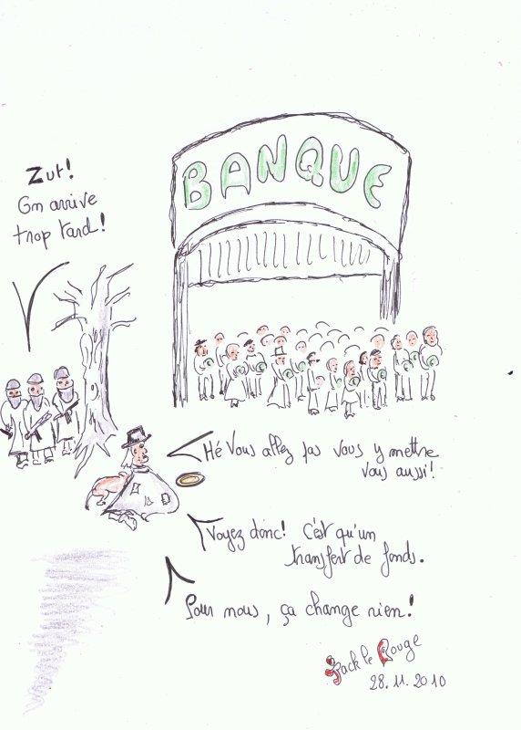 La Révolution Cantona du 7 décembre: alors,on vide les banques?