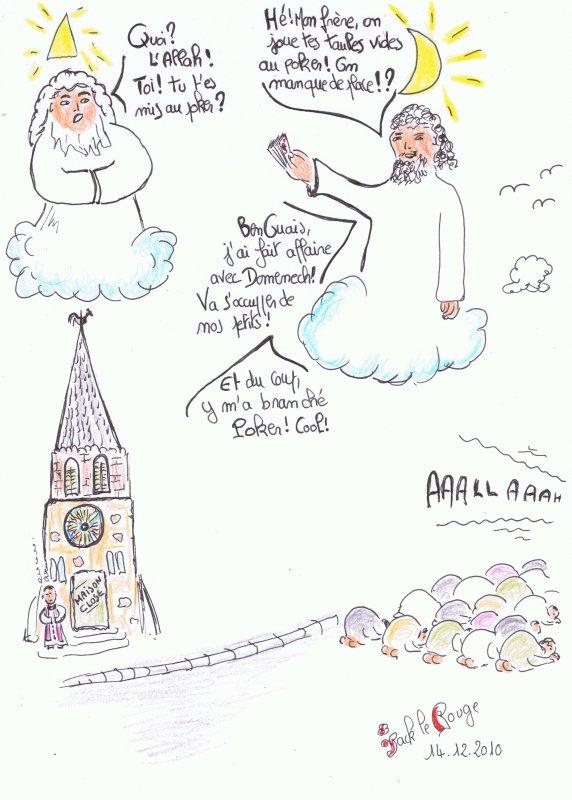 Prière dans la Rue- la Solution Miracle:...Domenech!