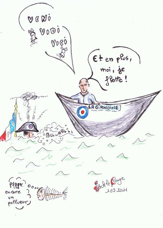 """Et Juppé fit """" Le Coup du Chapeau """" à Nicolas!"""