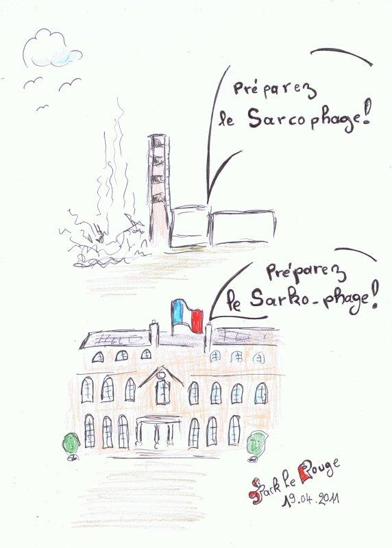 Quelle différence y a t' il entre Nicolas Sarkozy et Tchernobyl ?