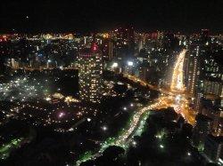 Nuit du 31 au 1er Janvier - Nouvel an à Tokyo tower
