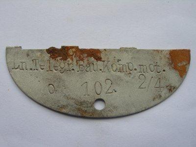 N°71 - Plaque de la Luftwaffe (transmissions)