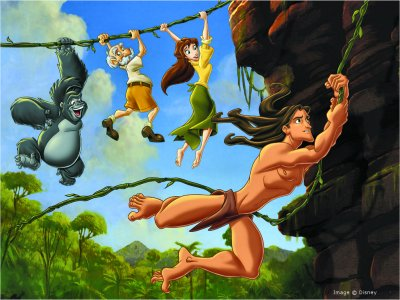 Disney Pictures Presents : Tarzan :)