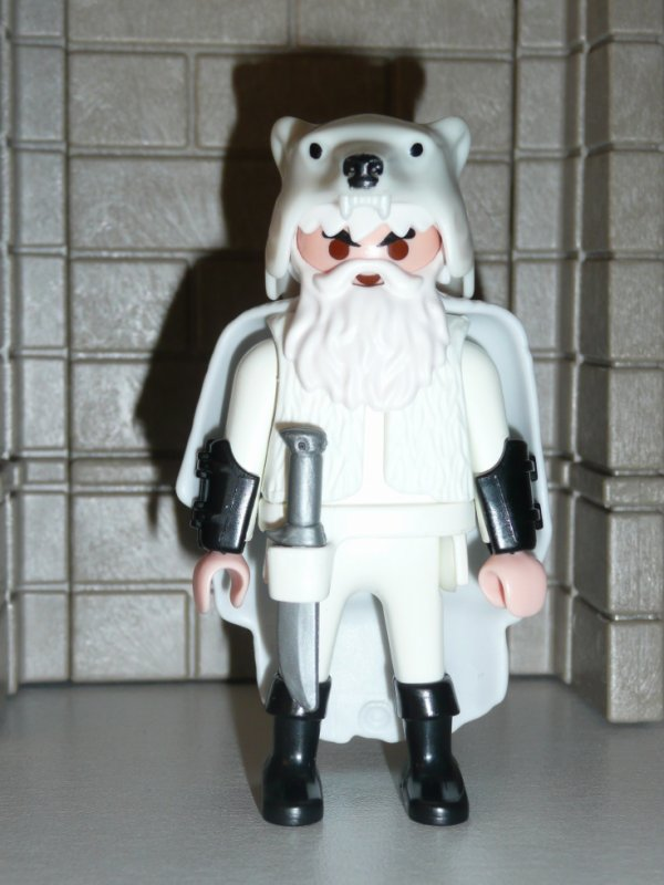 PLAYMOBIL CUSTOM VIKING BLANC ...