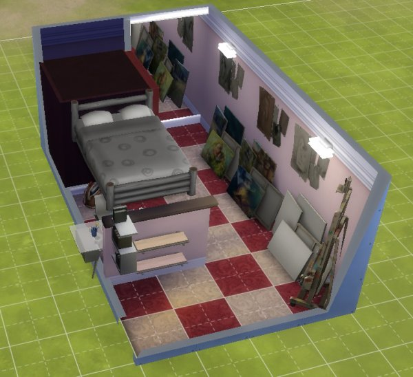 Chambre d'une Ado-Tiste