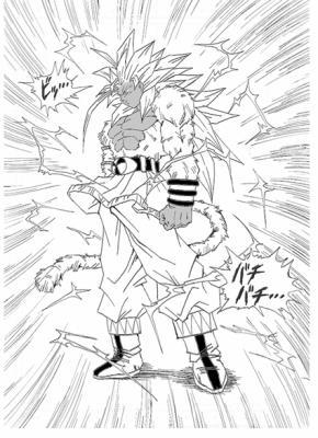 Goku Ss 5 En Noir Et Blanc Templedbz