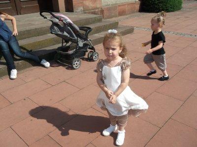 ma fille noelyne le jour du baptême
